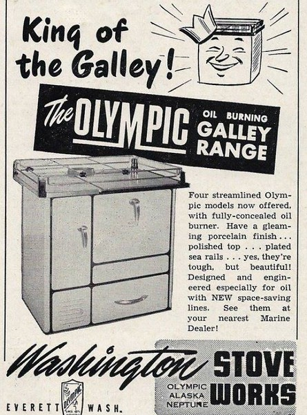 Olympic Stove 1951