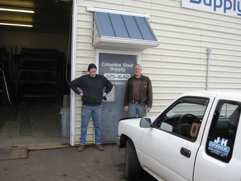 Columbia Steel,Gary Pritchard,Tim Hill,Astoria,