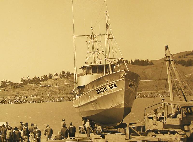 Baltic Sea  Built   1975  By Freeman and Howard Gold Beach Oregon  For Elmer Hedberg