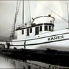 Karen Launched 1945  Builder Abe Elfving  Coos Bay Boat Co  Vernon Graham  Jonke Elfving