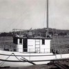 Ruth Ellen  1943  House On Being Outfitted  boat  Owners  Wilburn Hall Chester Hall  Ray Hall  Builder Abe Elfving  Coos Bay Boat
