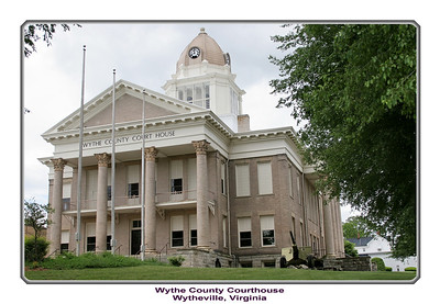 County Courthouses in Virginia
