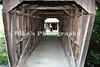 Covered bridge at  Lincoln Homestead State Park in Kentucky