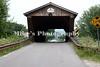 A covered bridge near Proctor, Vermont