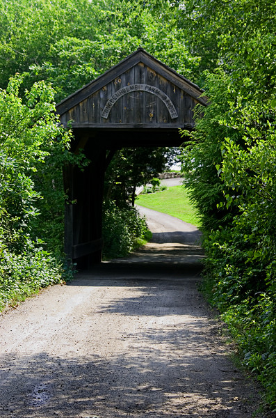 <center>Longdenholme Farm Bridge<br><br>Richmond, Rhode Island<br><br>Here's another of the covered bridges in Rhode Island. This one crosses the Beaver River on private property in Richmond, RI.</center>