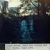 Cowpe Brook weir for Bridge End Mill Felt Works 1978