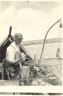 1935_Crabber,Happy Berthelsen, Later Owner Of Clara B  Astoria