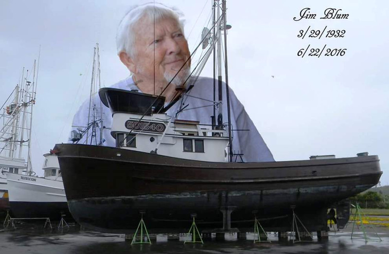 Capt  Jim Blum 3 29 1932  Died 6  22  2016  Tempest   Lila M  See You Over The Next Swell Capt
