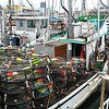 Willanina Built 1945 Seattle  Loaded with Crab pots San Francisco   Jason Salvato