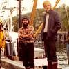 Pacific Lady Crew 1980 Dennis Day  Bob Quaccia  Frank Converse  Neldon Wagner