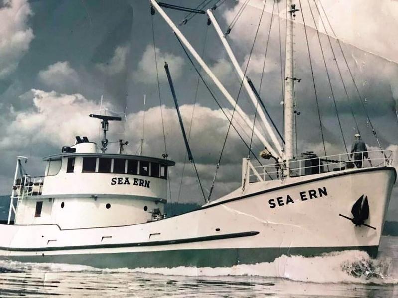 Sea Ern Built 1966 Pacific Fisherman Seattle  Lars Myhre  Westpoint Fisheries