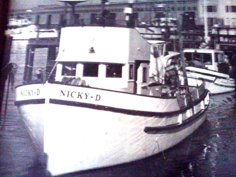Nicky D  Maria B II  Built 1947  Salvatore Bertolino  Nicola Damato  Joseph Damato  Mark Schwarz