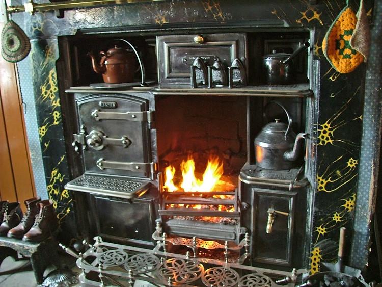 Beamish Museum coal fire