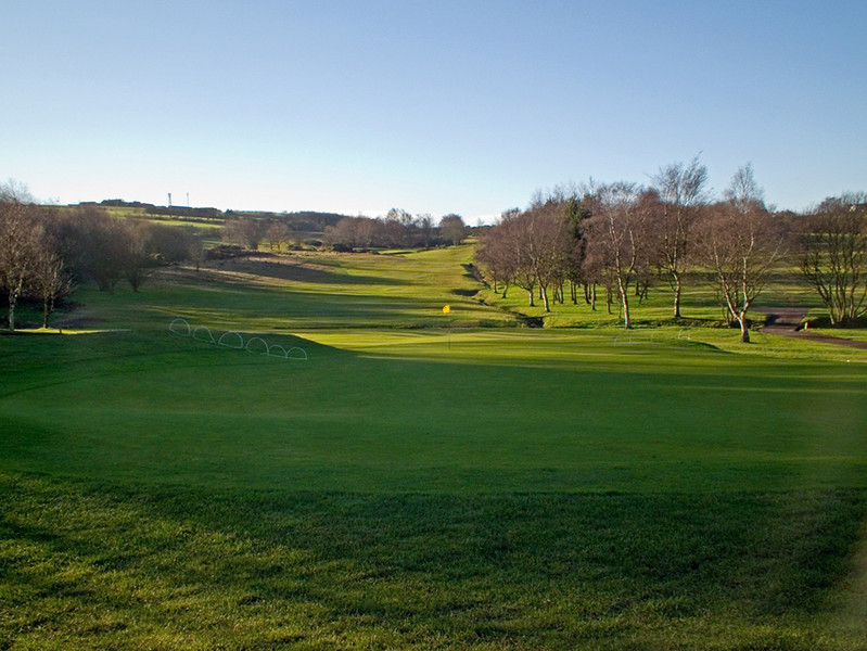 South Moor Golf Course on New Years Day 2013