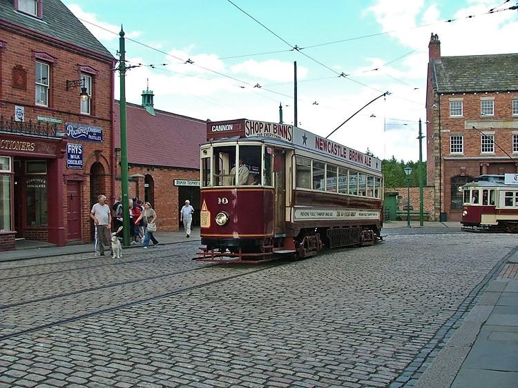 Beamish Museum tram