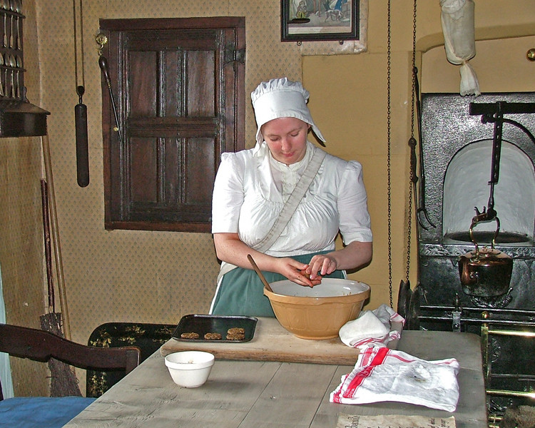 Beamish Museum cook