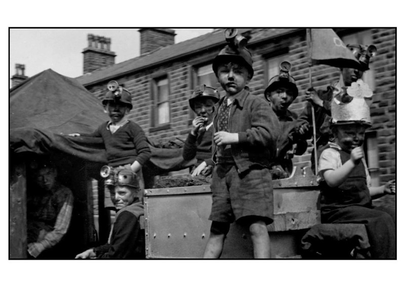 Goodshaw Band Gala 1947King Cole & his Miners B Fisher G Bannister M Bannister M Cormack B Haworth G Haworth