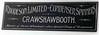 Crawshawbooth Rhodeson Sign