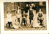 Goodshaw County School Netball team 1930s