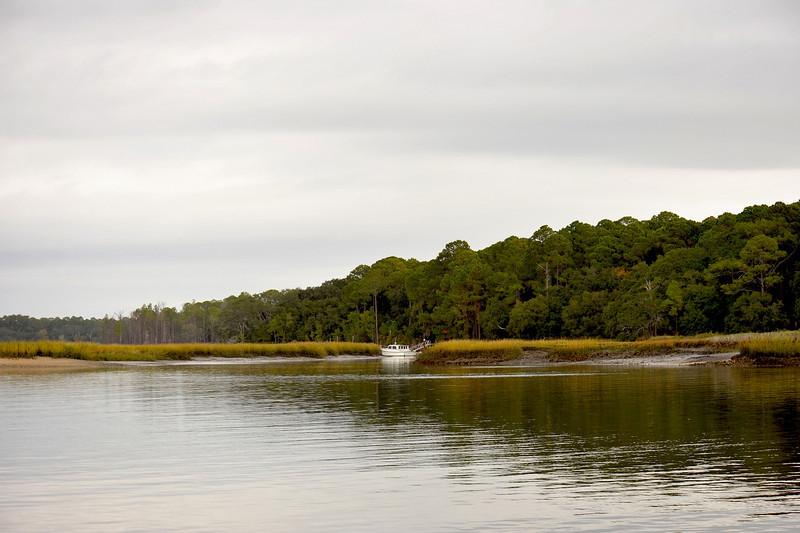 Brickiln/Brickhill Bluff/Landing on Cumberland Island, Georgia 11-29-10
