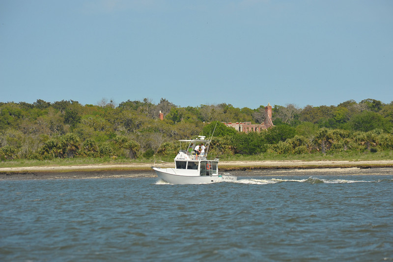Dungeness of Cumberland Island Georgia off the Intracoastal Waterway (ICW) 04-02-11