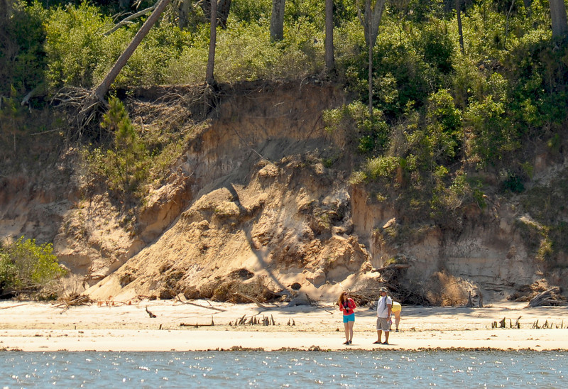 Cumberland Erosion on the Cumberland River Side 04-27-12
