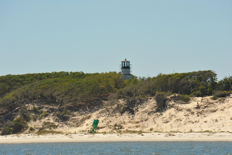 Little Cumberland Island at St. Andrews Sound Georgia - Lighthouse - Graveyard of Waterway Markers 04-27-12