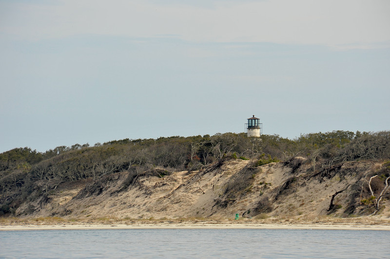 Little Cumberland Island at St. Andrews Sound Georgia - Lighthouse - Graveyard of Waterway Markers 02-16-12