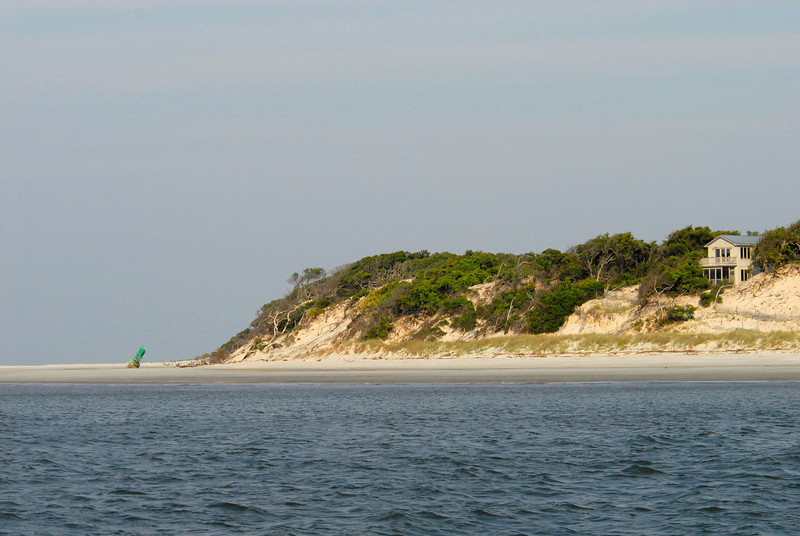North End of Little Cumberland Island as viewed from the ICW in St. Andrews Sound in Georgia