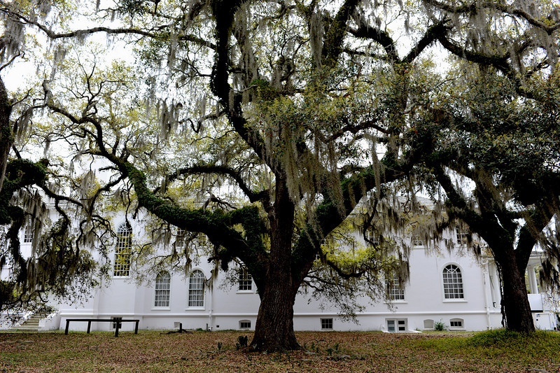 Plum Orchard Mansion on Cumberland Island, Georgia along the Brickhill River 04-05-09