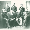 7. Uncle Phil Sheridan (at back right) and company.