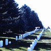 10. I remember I used to speak about the short grave marker in some of my cemetery talks - I said it belonged to a really short soldier.