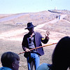 13. Cliff Nelson was a North Dakota boy who taught school in Montana. He worked as interpreter for many seasons at Custer. Seems I remember he often dressed as a trapper in the summer of '75.
