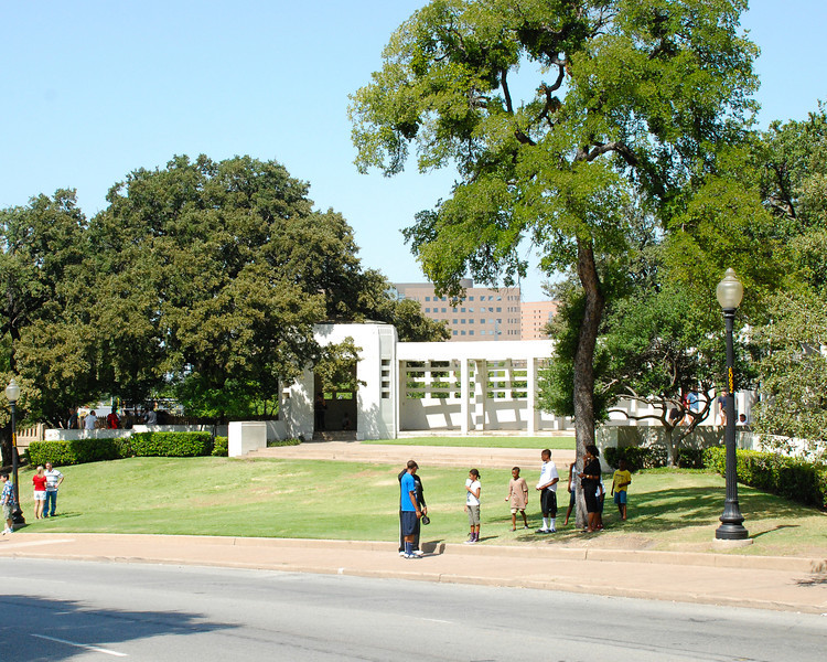 """The """"grassy knoll"""""""