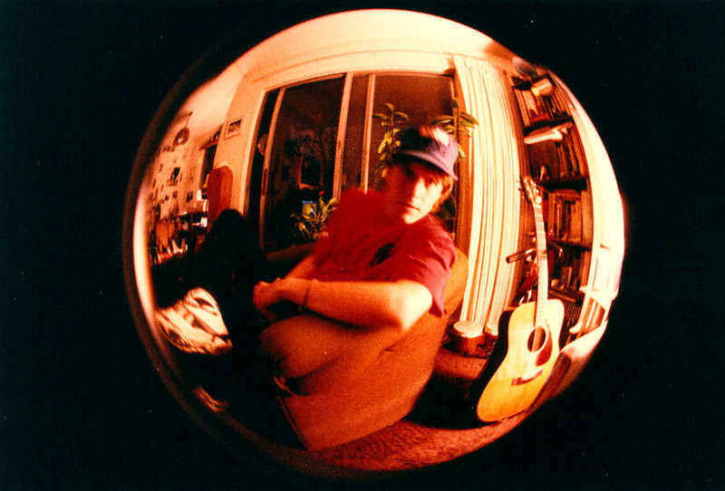 DANNY FISH-EYE<br /> Now we see the true fish-eye effect, where the shot is a total ball. Pretty cool, huh?
