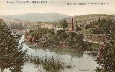 Dalton Crane pond and Mill