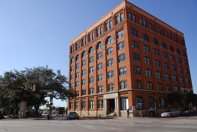 The old Texas School Book Depository.