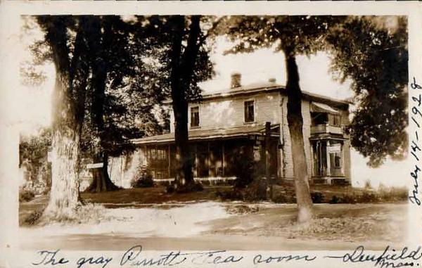 Deerfield Gray Parrott Tea Room 1928