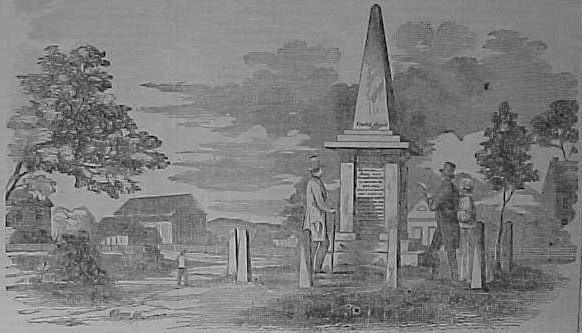 1851 Deerfield Bloody Brook Monument