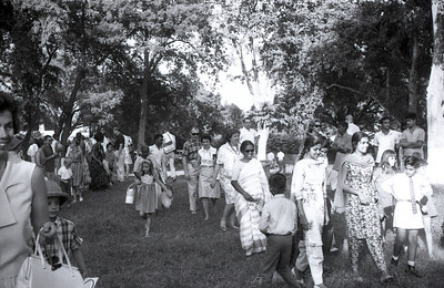 Families at the gymkhana, 1967