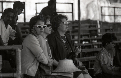 Mothers at the horse show, 1967