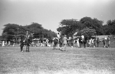 At the Delhi Horse Show, Spring, 1967