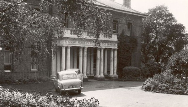Front entrance taken in the 1950`s