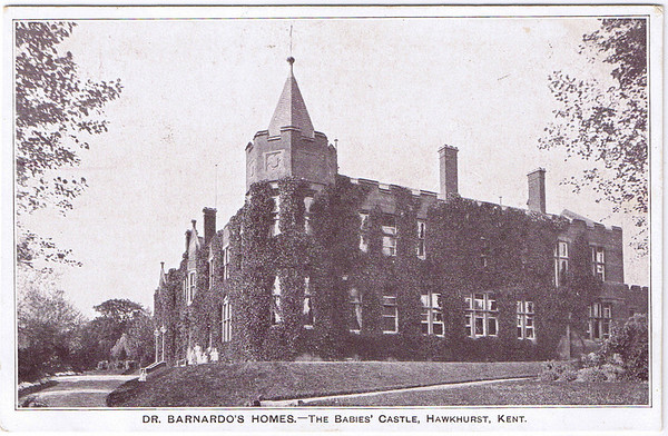 Dr Barnardo`s Post card