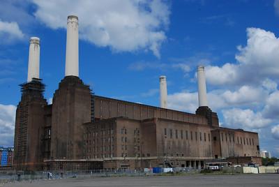 Battersea Power Station 2008.