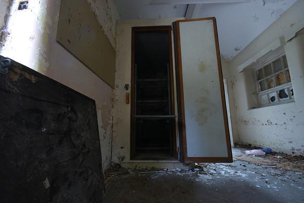 Body fridge in the Morgue