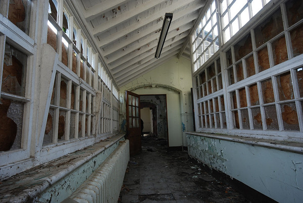 It housed both male and female patients suffering from typhoid and dysentery..