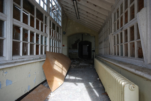 Still in the Isolation part of the hospital... In 1929 a Pathological Laboratory was fitted out in the upper central part of the building