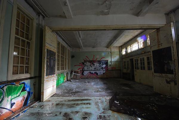 Classroom off the corridor