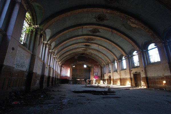 I am also amazed,that when demolition begins,this hall wont be saved.